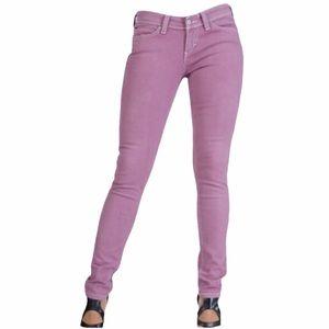 Levi's Demi Curve Low Rise Lavender Skinny Jeans